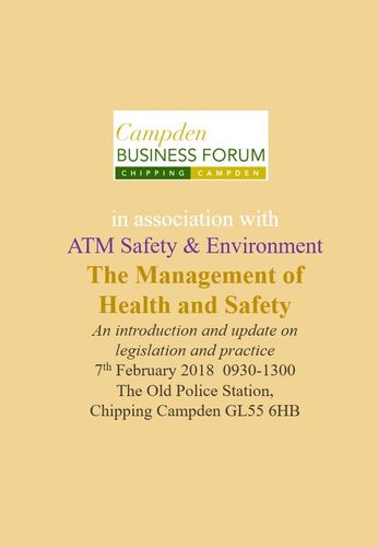 Management of Health and Safety Course