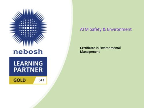 Environmental Certificate in the UK